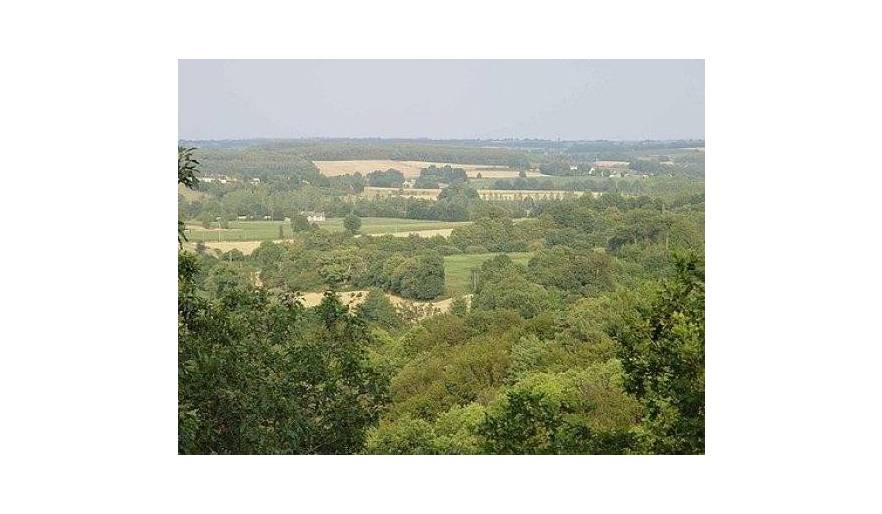 View of the Countryside from Le Mur