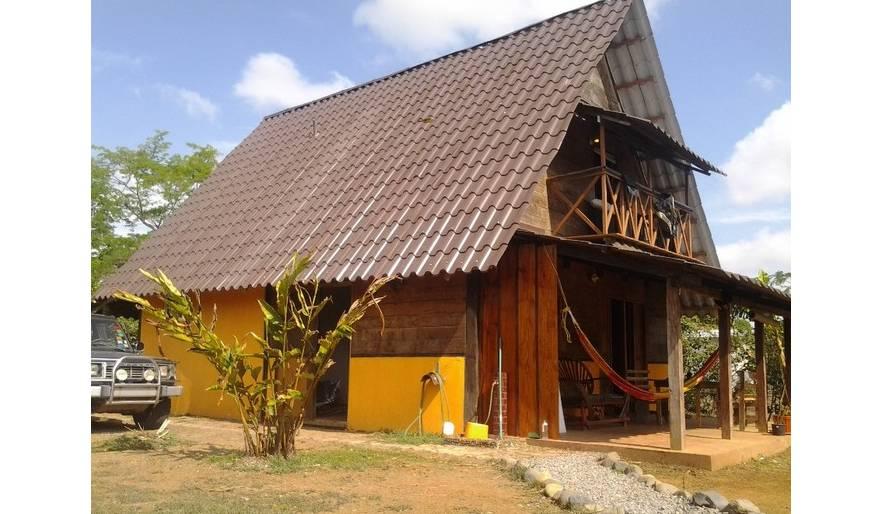 Main house in dry season