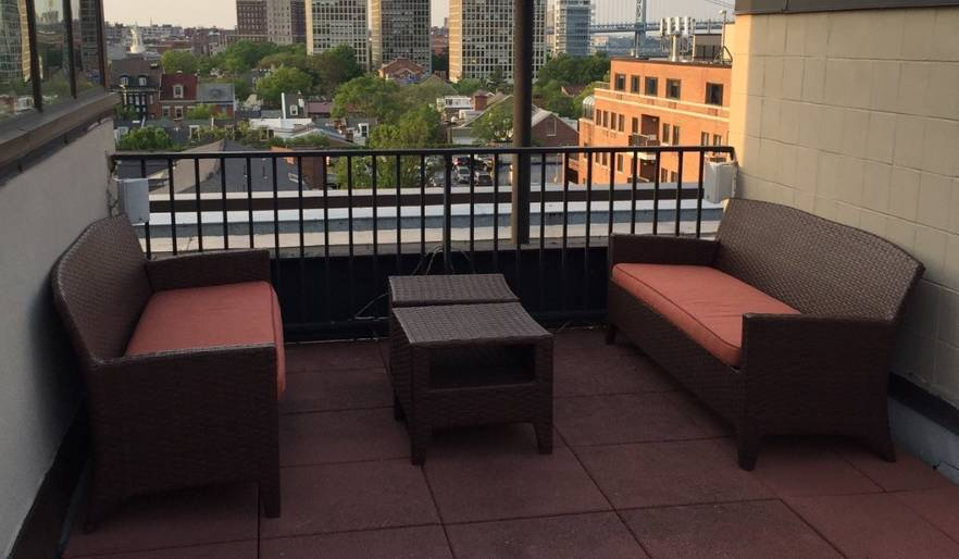 Roof top deck