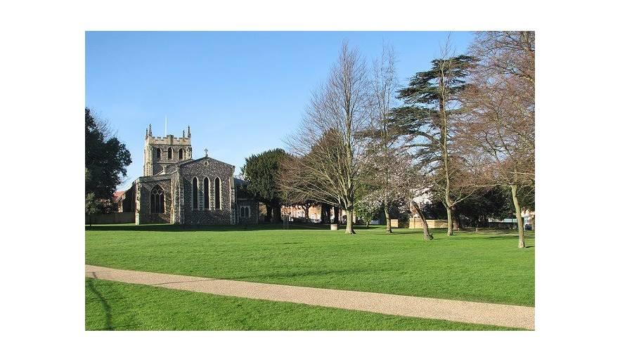 Royston, Priory Gardens