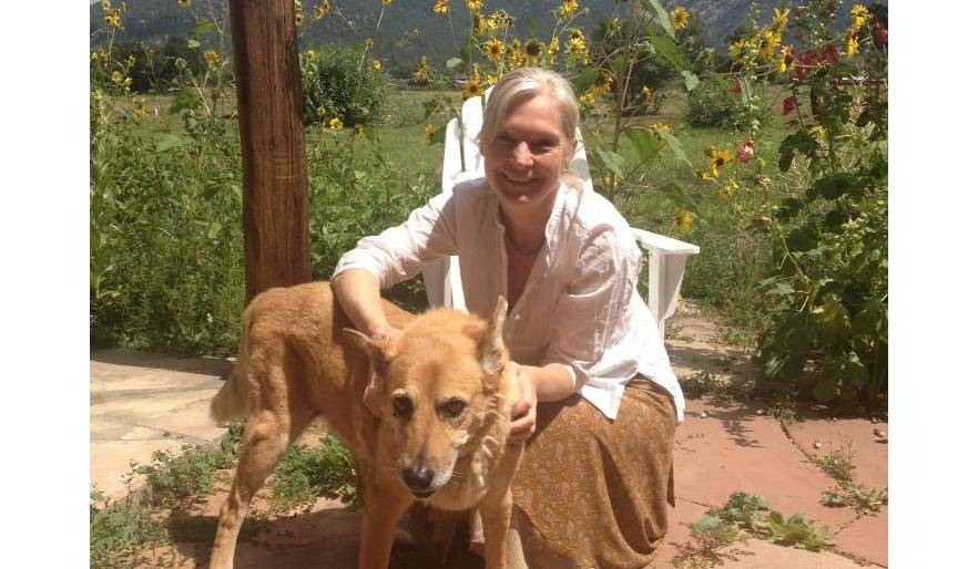 New Mexico housesit with sweet Luna.