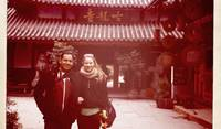 Dave and Jess in China