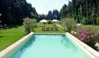 Large garden and pool we maintained in Provence