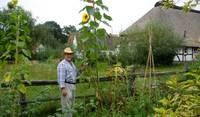 in my garden at the country farm house in Germany...
