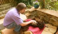 Tummy rubs in Tuscany